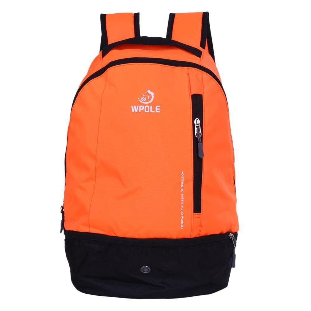 6457f15de Basketball Soccer Backpack Multifunctional Travel Outdoor Sports Bag(Orange)  - intl