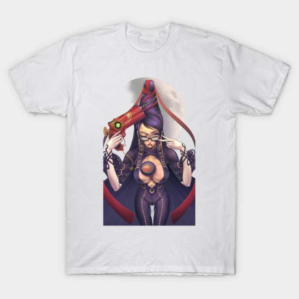 Bayonetta T-Shirt Design Men s T-shirt Short Sleeved Cotton O-Neck