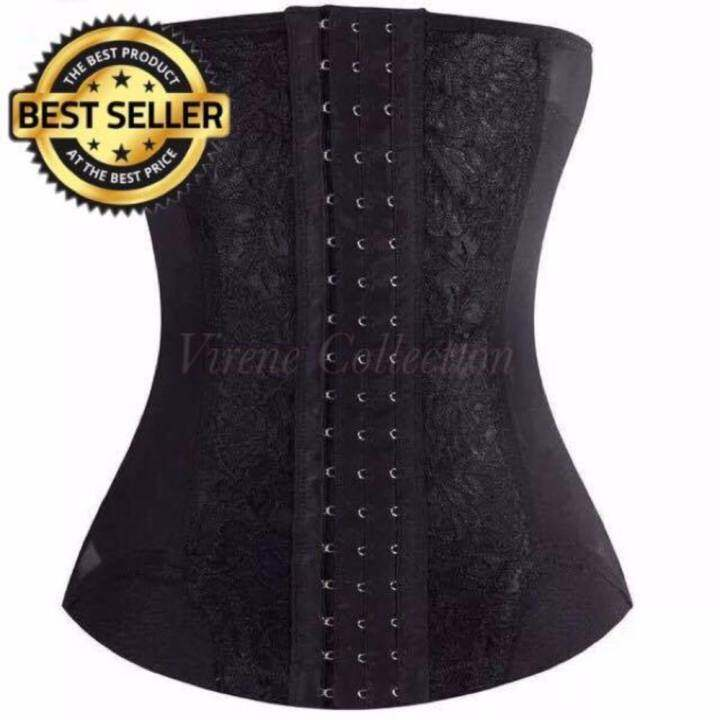 7ea00c3ff6 Black LOCAL WHOLESALE - HIGH QUALITY 321264CPC Bengkung   Ultra Slim Waist  Trainer