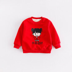 dea999f8d (Free Shipping)Boy Girl Hoodies T-shirts Sweatshirt Fashion Cartoon T-shirt