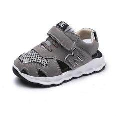 Boys Girls Breathable Casual Summer Unisex New Cute School Shoes Sandals Sport Shoes I12 Grey By Crazy Store.