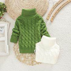 Boys Girls Turtleneck With Beard Label Solid Baby Kids Sweaters Soft Warm Sueter Infantil Autumn Winter Childrens Sweater Coats By Huizhoushi Chongde Xiangbaofushi Ltd.