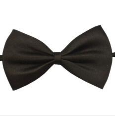 Mens Bow Tie Adjustable First-rate Tuxedo Wedding Black