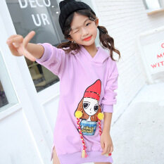 78d04a959bf0 (Free Shipping)Cartoon Casual Sports Hoodie Long Sleeved T-Shirt Baby Girls  Jacket