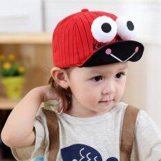 22d9927eaa7 Cartoon Stripe Adjustable Pattern Summer hats for Kid Baby Infant Girl Boy  Caps Big Eyes 8