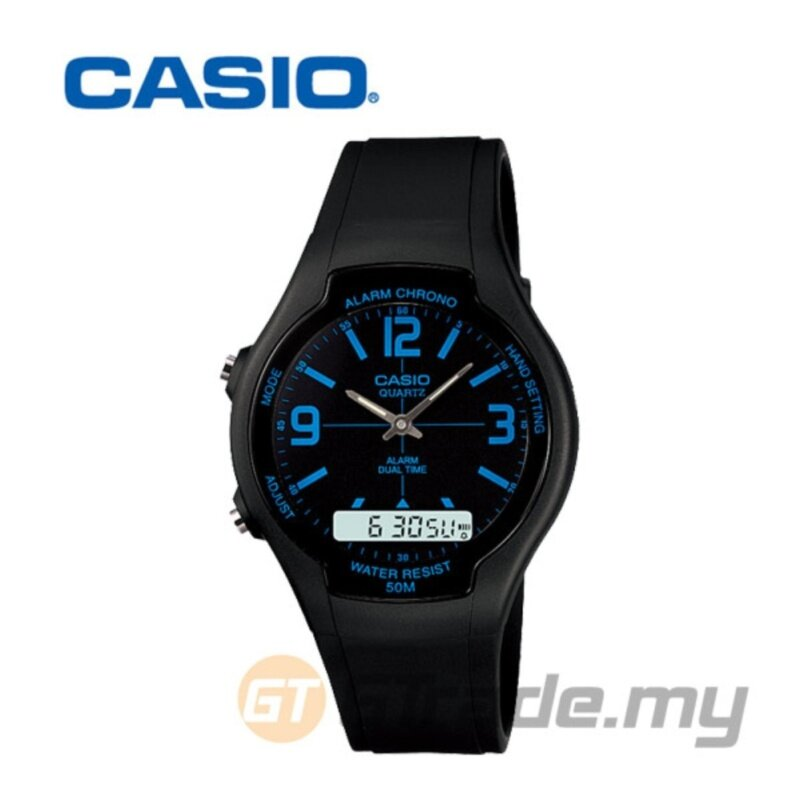 Casio AW-90H-2BV Analog Digital Watch Malaysia