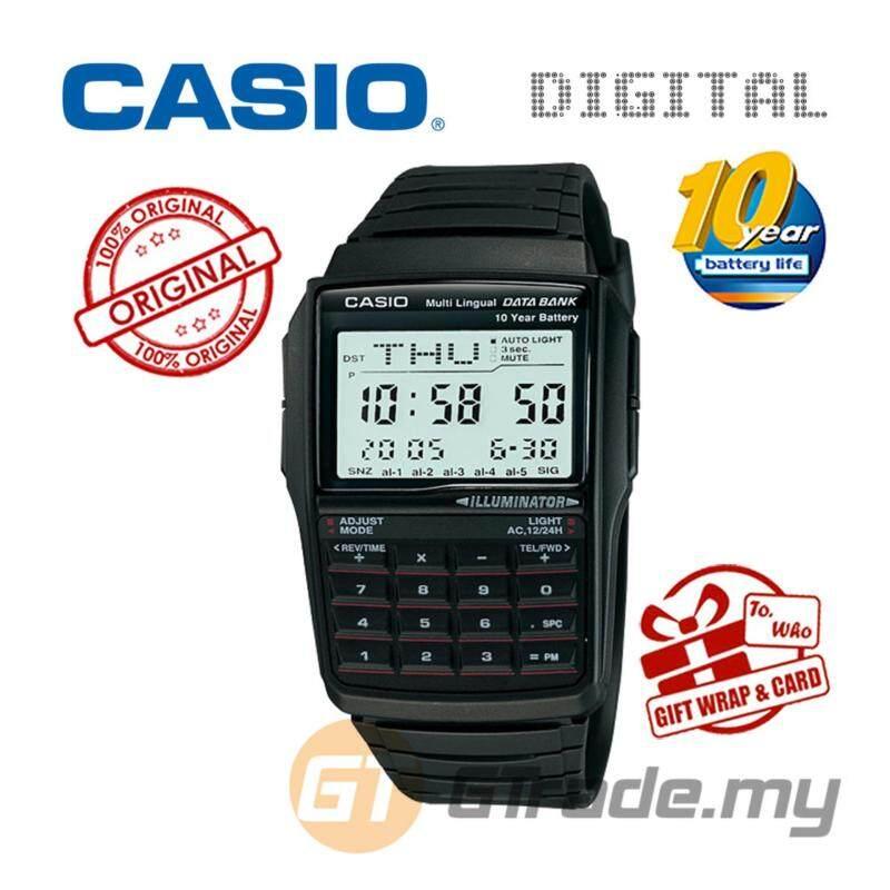 CASIO DATA BANK DBC-32-1A Digital Watch Malaysia