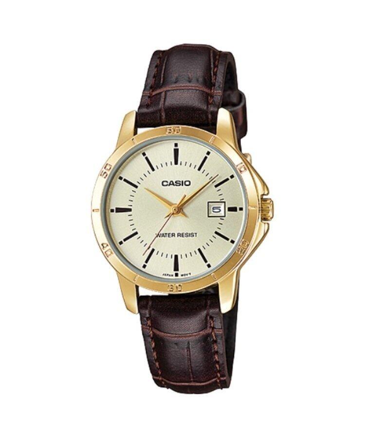 Casio LTP-V004GL-9AUDF Original & Genuine Watch Malaysia