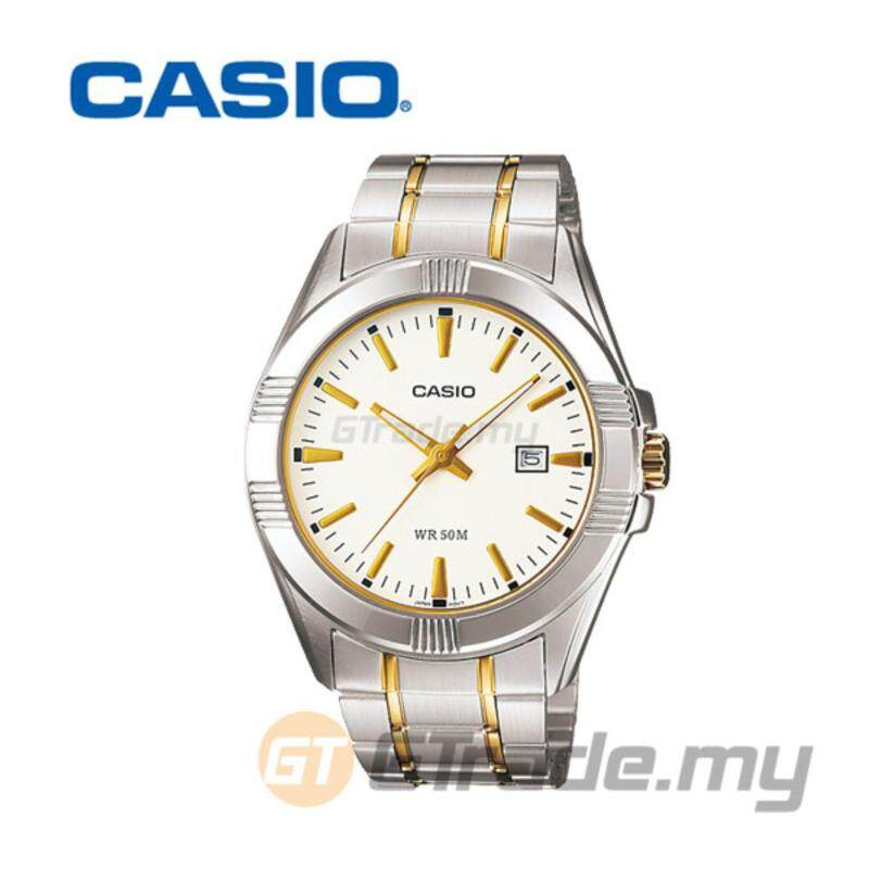 Casio Mens Silver Stainless Steel Strap Watch MTP-1308SG-7AV Malaysia