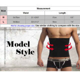 eba283c85e402 CatWalk Men Shapewear Fat Slim Belt Tummy Cincher Corset Stomach Shapers M  Size (Black)