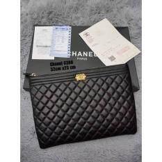 Malaysia Chanel Boy Black Lambskin Medium