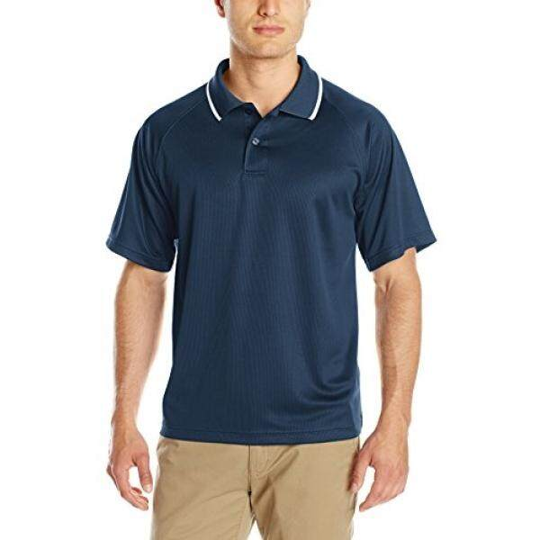 Charles River Apparel Mens Classic Wicking Polo, Navy, 5 - intl