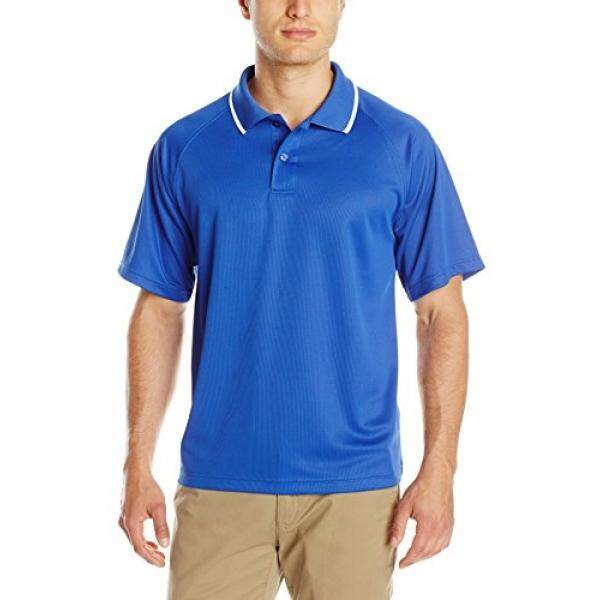 Charles River Apparel Mens Classic Wicking Polo, Royal, - intl