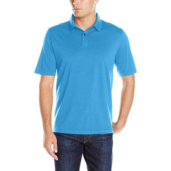 Charles River Apparel Mens Seaside Soft Cotton Polo, Carolina Blue, - intl