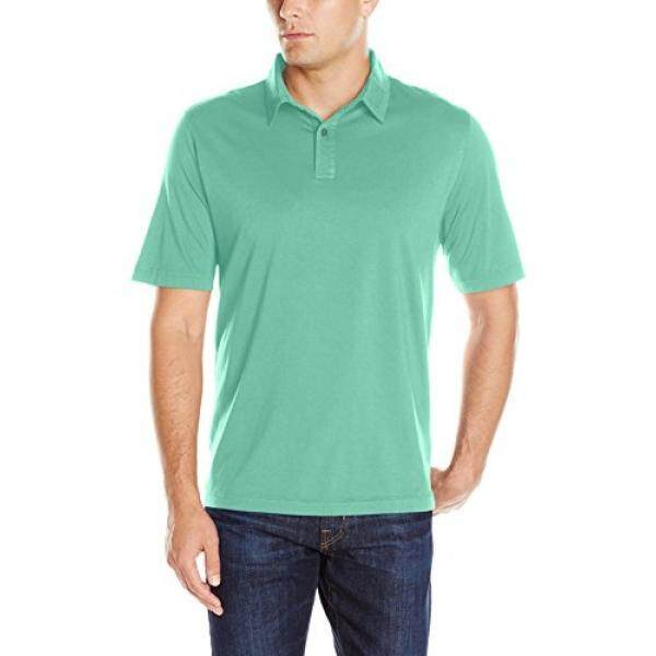 Charles River Apparel Mens Seaside Soft Cotton Polo, Mint, - intl