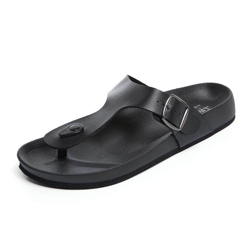 Cheap Price Spring Summer Men S Sandals Shoes Soft Pu Leather Comfortable Fashion Travel The World Men Casual Flip Flops Slipper Coupon Code