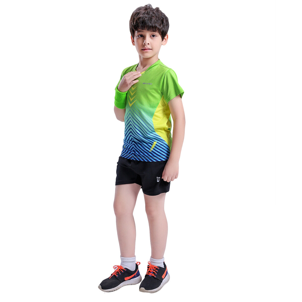 Cepat Kering Pria Basket Olahraga Lengan Pendek V Neck T Shirt Hitam Aonijie 6026 Men Quick Dry Baju White Putih Source Anak