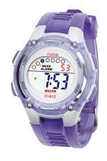 Children Boys Girls Swimming Sports Digital Waterproof Wrist Watch Purple Malaysia