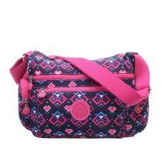 Classic Women's Canvas  Shoulder Bags messenger bag(Blend Color)