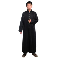 Clergy Cassock Vestments Robe (black) By Wuhan Qianchen