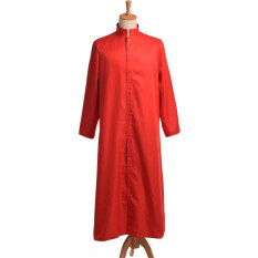 Clergy Cassock Vestments Robe (red) By Wuhan Qianchen