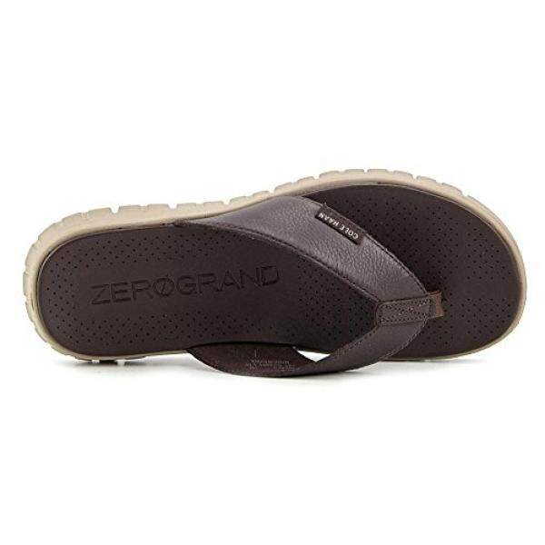 Cole Haan Pria Zerogrand Sandal Jepit, Java/Batu Bata, 11 D Kami-Internasional