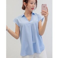 e4b36c008908 Color Diana Summer New Style Korean-style Women s Slim Fit Plus-sized Shirt  Bottoming