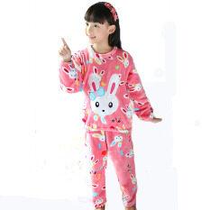 Coral Fleece Winter Pyjama Winter Children Pajamas Homewear By Fashion World Shop.
