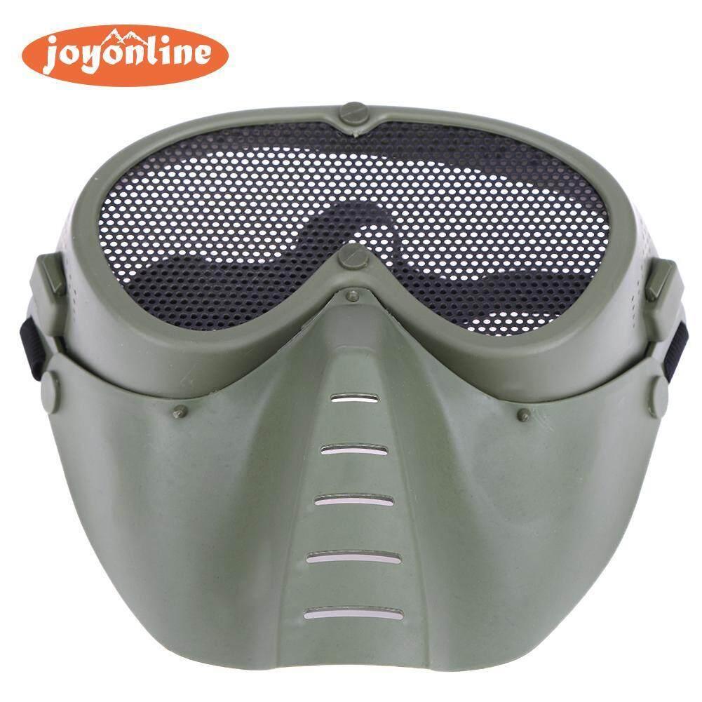 Hình ảnh Cosplay Face Iron Mesh Mask for Adult CS Paintball Game - intl
