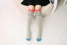 c0fe6ceb868 Cotton Children Knee High Cartoon Socks Fashion Kids Socks Leg Warmers Sock  Baby Girls Children Soft