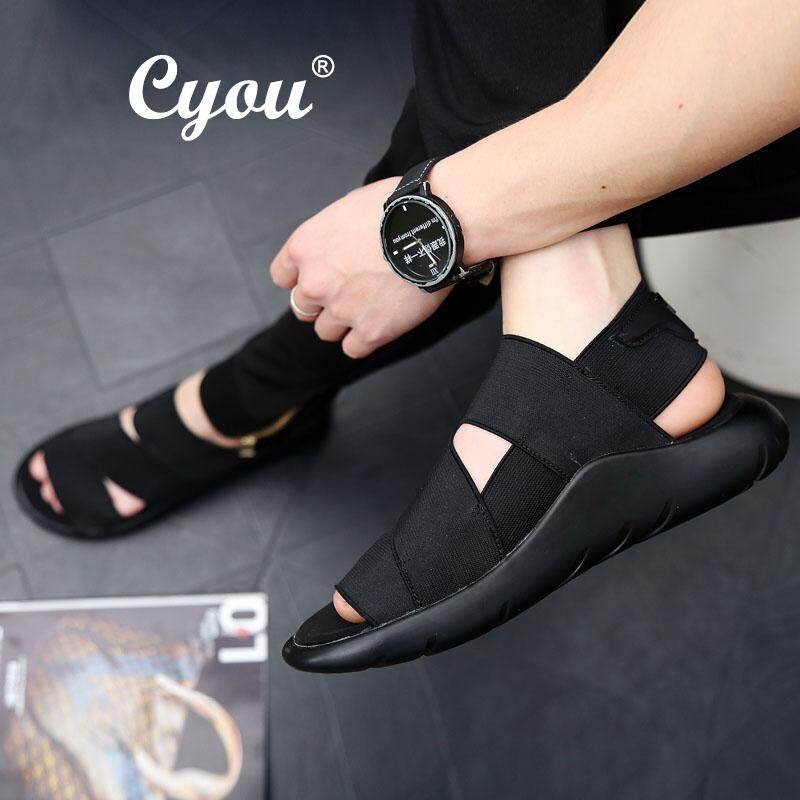 43fe60b8133816 Cyou 2018 New Arrival Summer Men Sandals Beach Sports and Leisure Shoes Men  Shoes Roman Youth