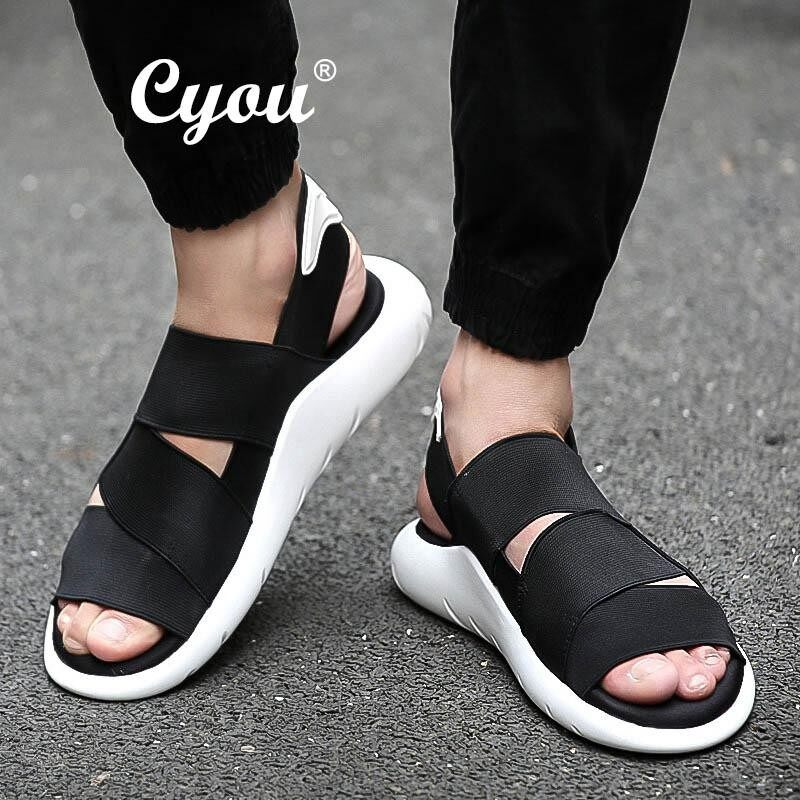 Wholesale Cyou 2018 New Arrival Summer Men Sandals Beach Sports And Leisure Shoes Men Shoes Roman Youth Korean Slippers Kasut Lelaki Intl
