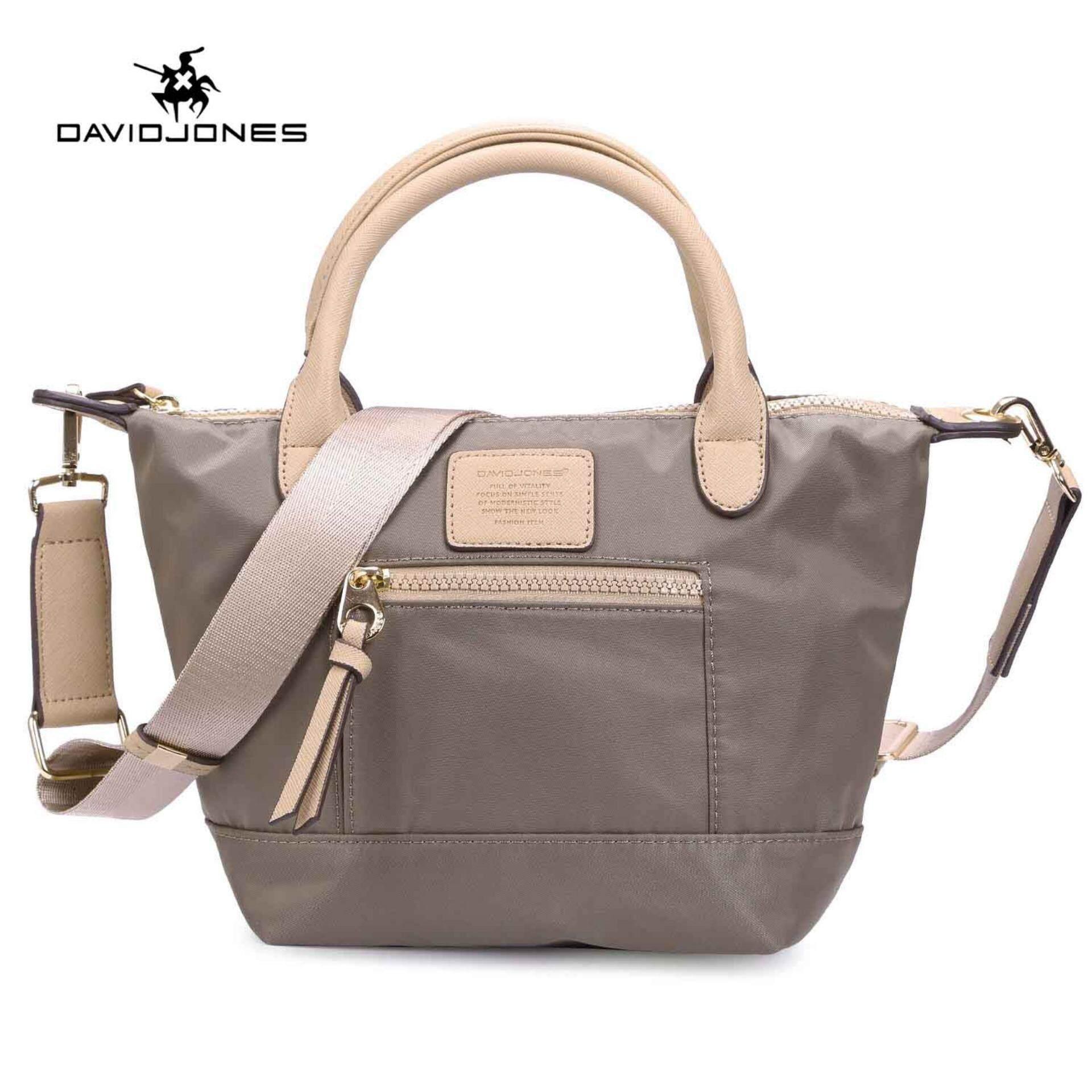 Davidjones Women Nylon Tote Bag Femal Shoulderbag Intl Shopping