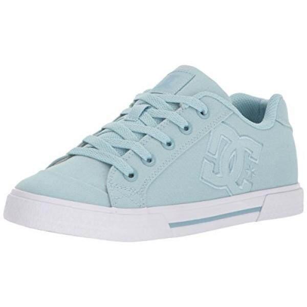 DC Wanita Chelsea TX Skate Sepatu Biru Muda, 9 B US-Intl