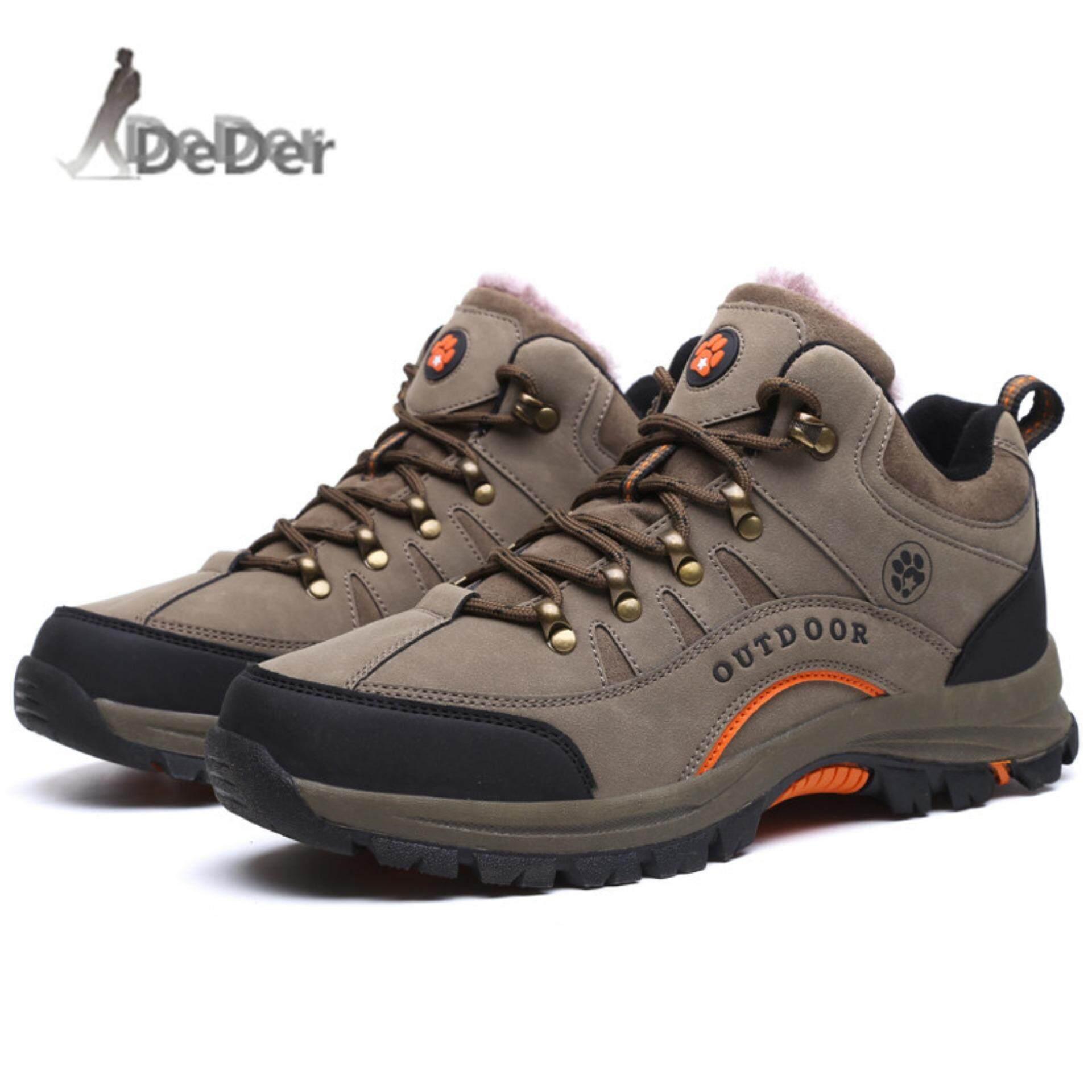 Pencarian Termurah Deder Pria Sepatu Mendaki Musim Dingin Luar Ruangan  Berjalan Sepatu Lari Gunung Sport Sepatu ee428fc904