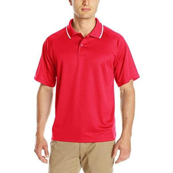 [DNKR]Charles River Apparel Mens Classic Wicking Polo, Red, 5X-Large - intl
