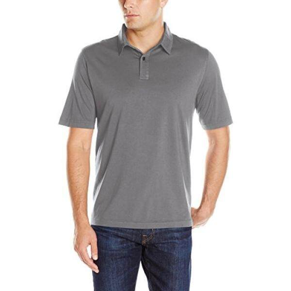 [DNKR]Charles River Apparel Mens Seaside Soft Cotton Polo, Grey, XXXX-Large - intl