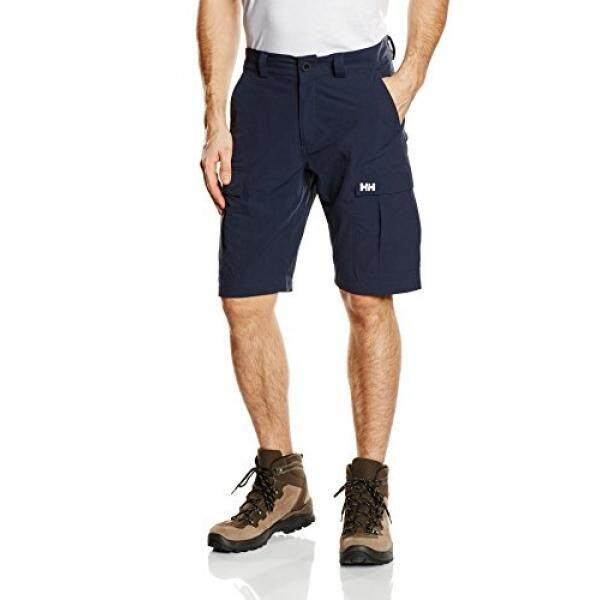 [DNKR]Helly Hansen Mens Jotun Quickdry 11-Inch Cargo Shorts, Navy, 30 - intl