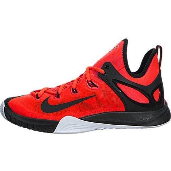 [DNKR]Nike Mens Air Zoom HyperRev 2015 Basketball Shoe Bright Crimson/White/Black Size 11.5 M US - intl