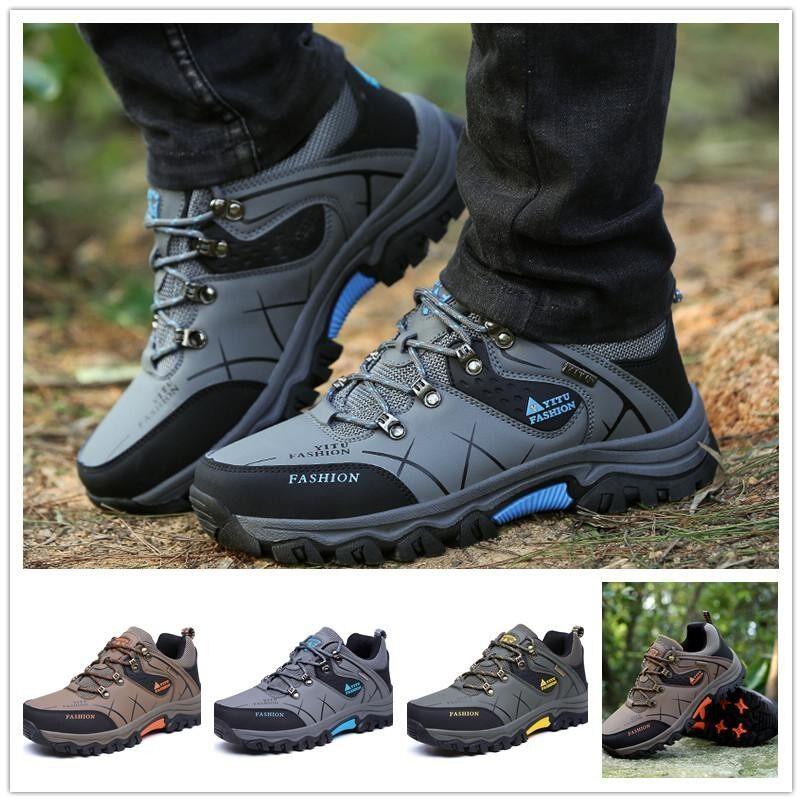 Pencarian Termurah Tahan lama Sepatu Hiking Pria Sepatu Panjat Tebing  Sepatu Trekking Sepatu Olahraga Luar Ruangan fa3647ca95