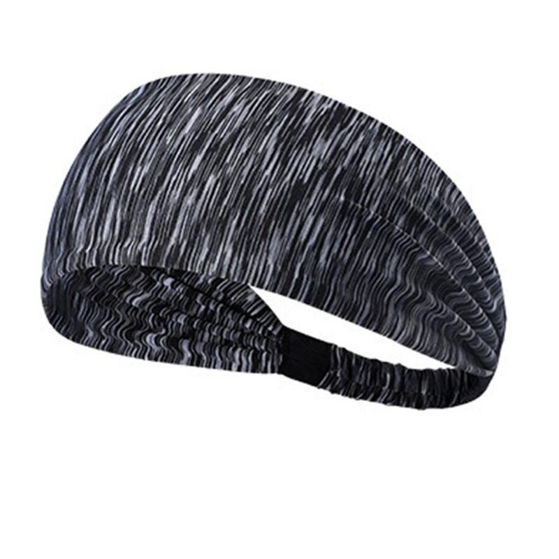 Elastic Wicking Non Slip Headband Lightweight Multi Style Bandana Hairband Headscarf For Sport Yoga Running Travel