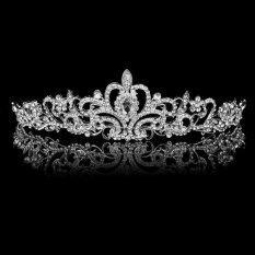 Elegant Luxurious Diamante Rhinestone Crown Wedding Party Bride Gift New
