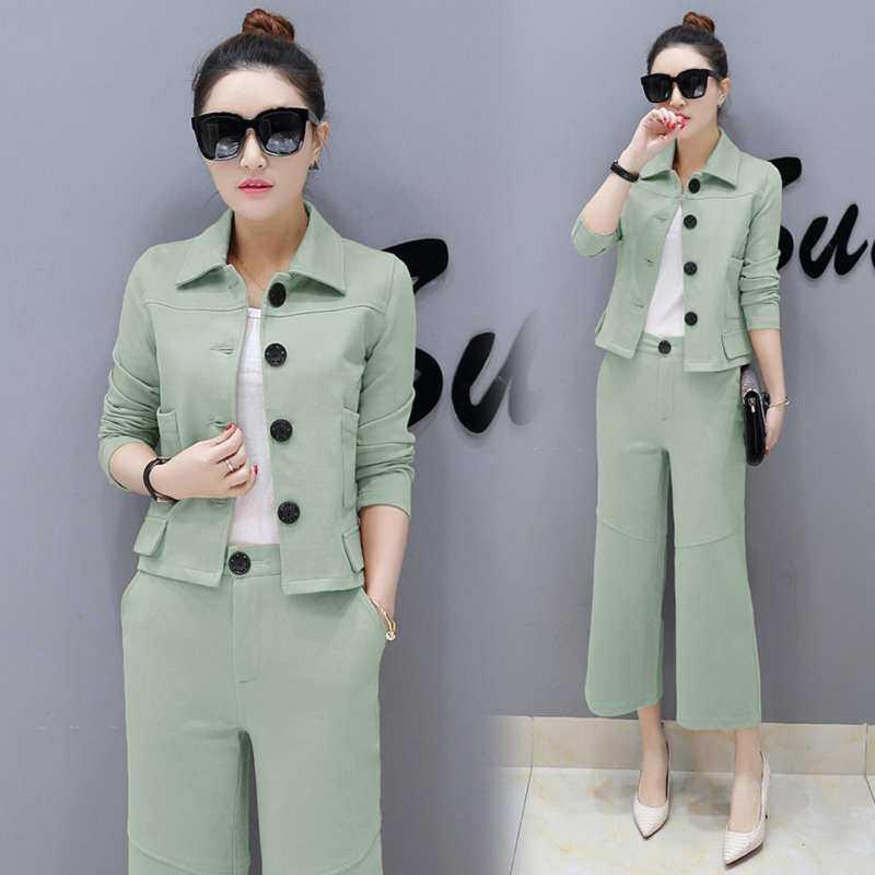 b97b44de0a2c Elegent Stylish Two Pieces Women Lady Business Work Suit Sets Outfit Office  Long Sleeve Leg Blazer