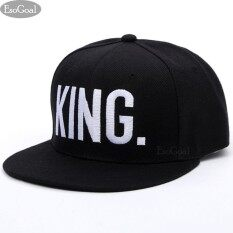 12e37bbba0c EsoGoal 3D King Hat Hip Hop Hats Baseball Sun Hat Snap Back Sports  Embroidered Lovers Couples