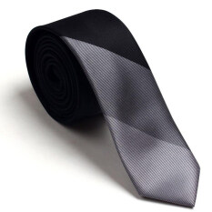 Evanhome 2016 Brand New High Quality Ties For Men Fashion 5cm Slim Tie Gradient Necktie Mens Suit Wedding Business Dresses Neckties Hot(black Grey) By Dongguan Sanfang Textile Co Ltd.