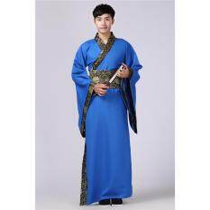 Fashion Chinese Mens Han Clothing Emperor Prince Show Cosplay Suit Robe Costume By Suyuer123.