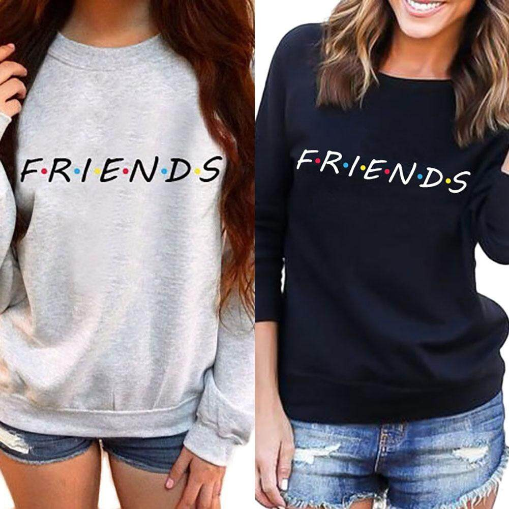 New Fashion Friends Tv Show Women Hoodies Casual Sweatshirt Coat Jacket Outwear Tops Pullover Intl