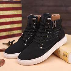 Fashion Mens Oxfords Casual High Top Shoes Shoes Sneakers Shoes Bk/39 By Cnb2c.