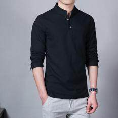 Fashion Short Sleeve Mens Shirts Male Casual Linen Shirt Men Brand Plus Size Shirt (black) By Silent Flower Online Store.