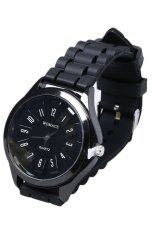 Fashion Silicone Watch (Black) Malaysia